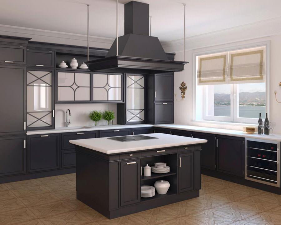 Modello di cucina open space n.06