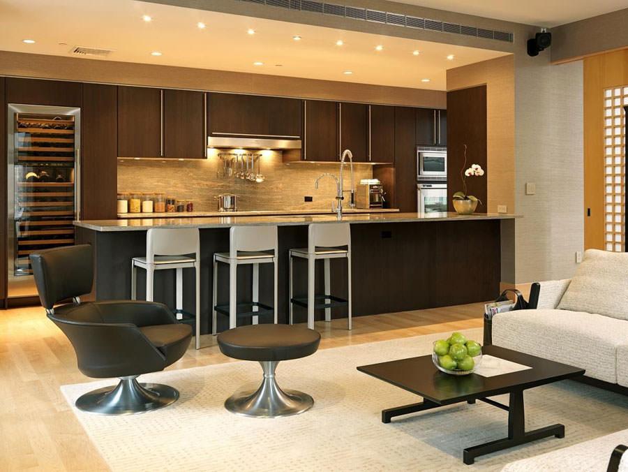 Modello di cucina open space n.08