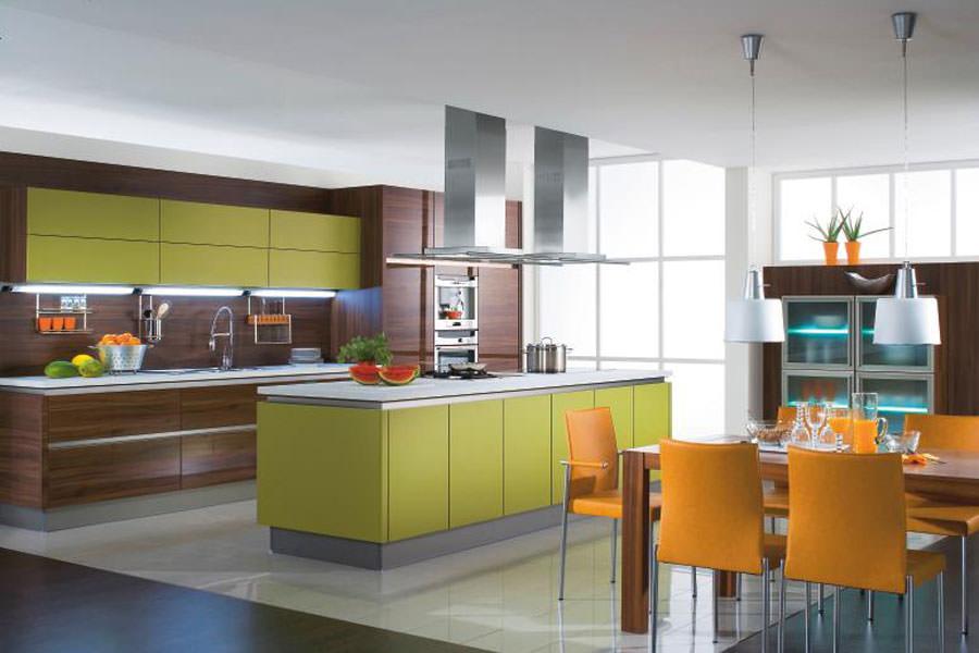Modello di cucina open space n.09