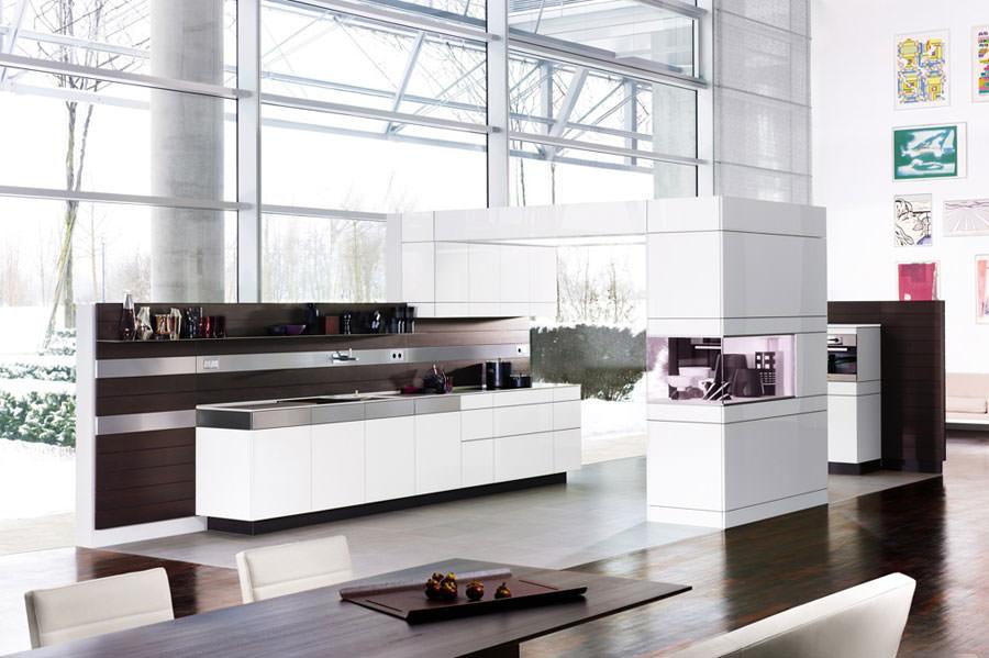 Modello di cucina open space n.11