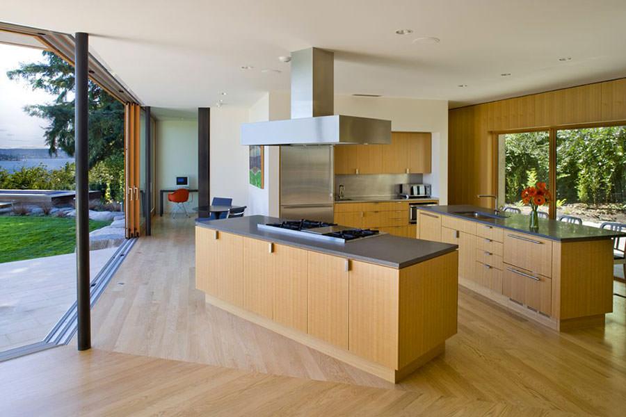 Modello di cucina open space n.12