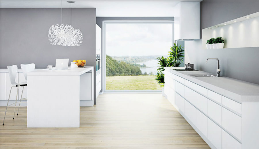 Modello di cucina open space n.13
