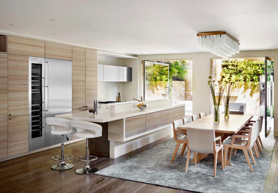 Modello di cucina open space n.16