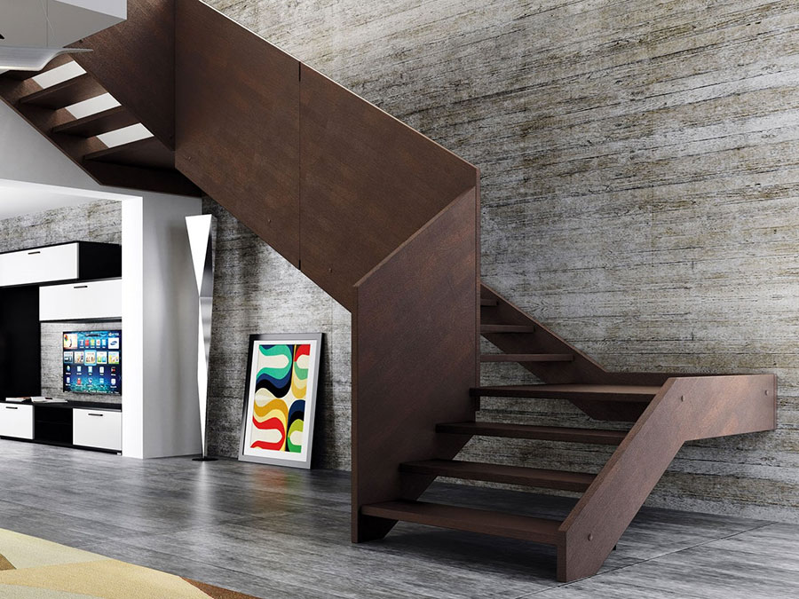 Scale da interni dal design moderno n.26