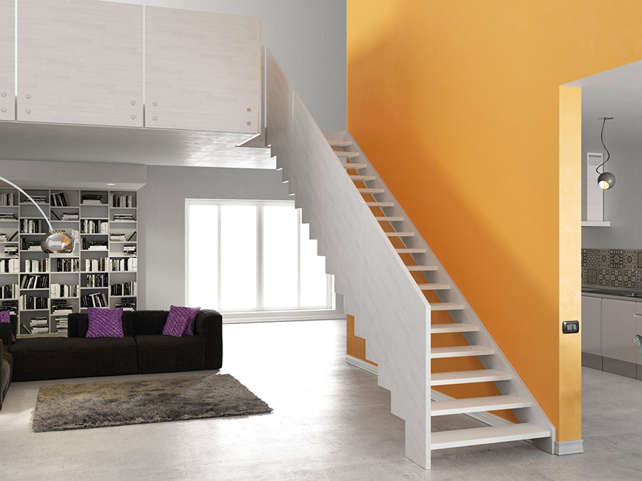 Scale da interni dal design moderno n.28