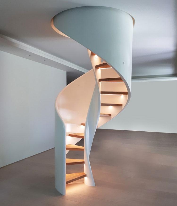 Scale da interni dal design moderno n.29