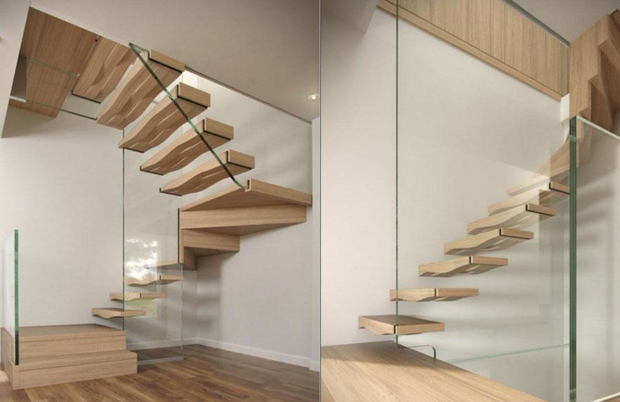 Scale da interni dal design moderno n.30