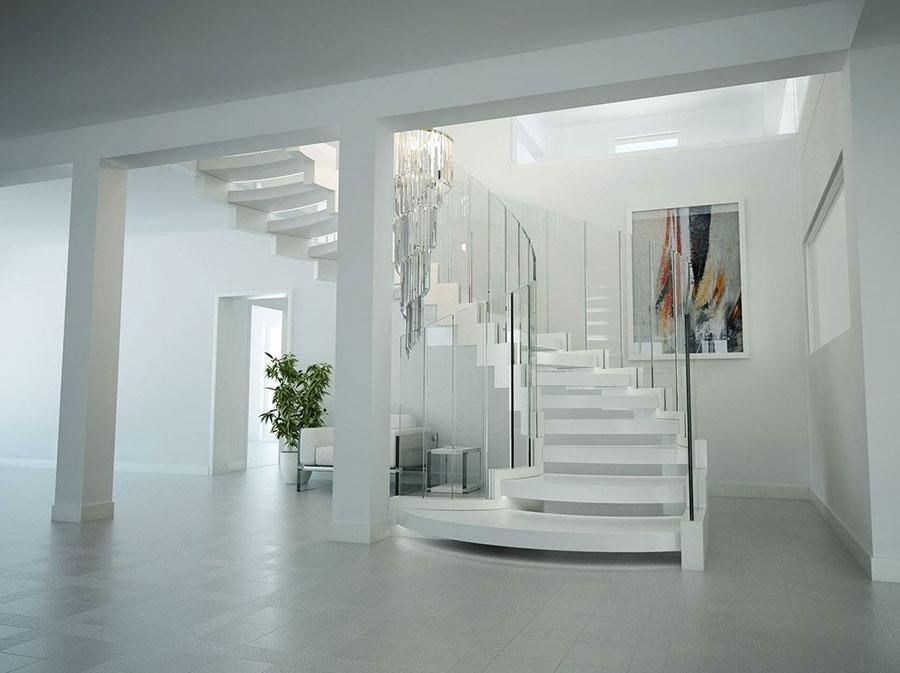 Scale da interni dal design moderno n.33
