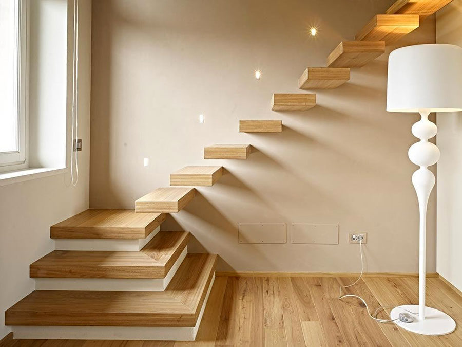 Scale da interni dal design moderno n.34