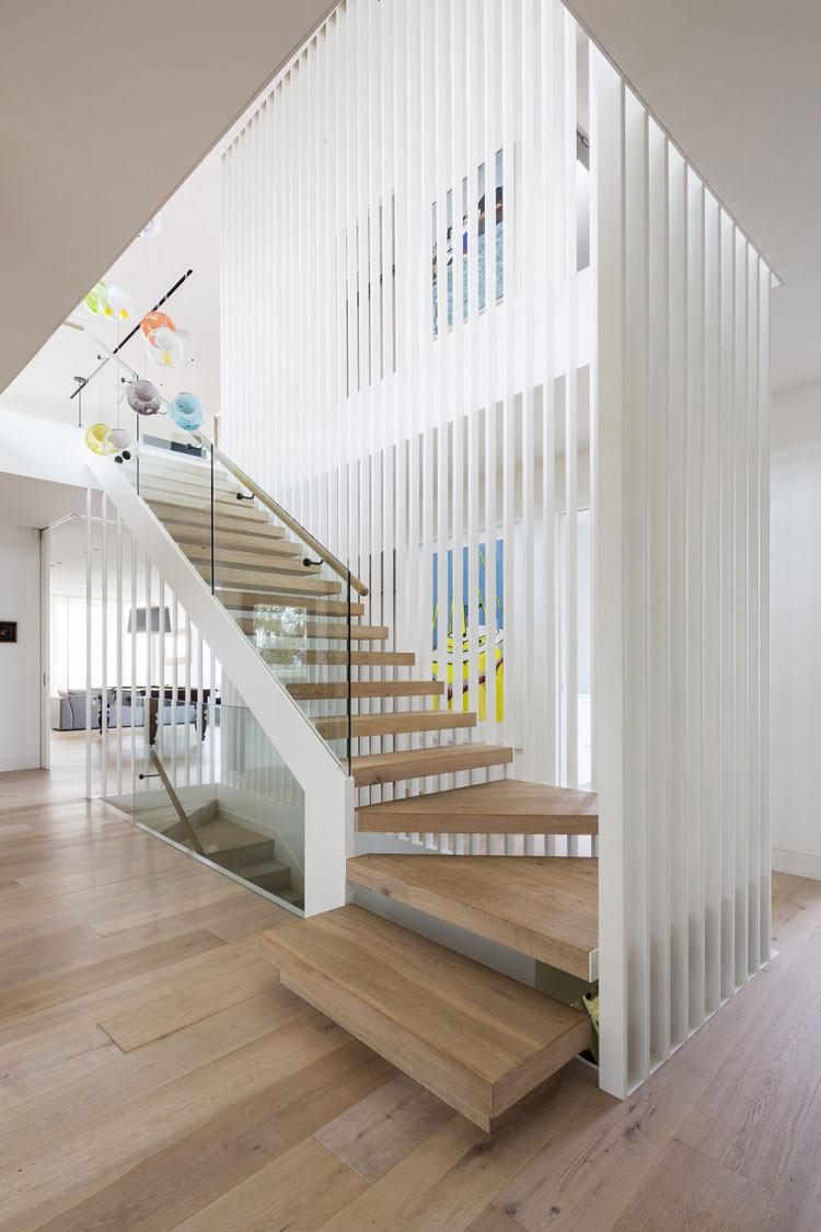 25 spettacolari esempi di scale moderne per interni - Ikea scale da interno ...