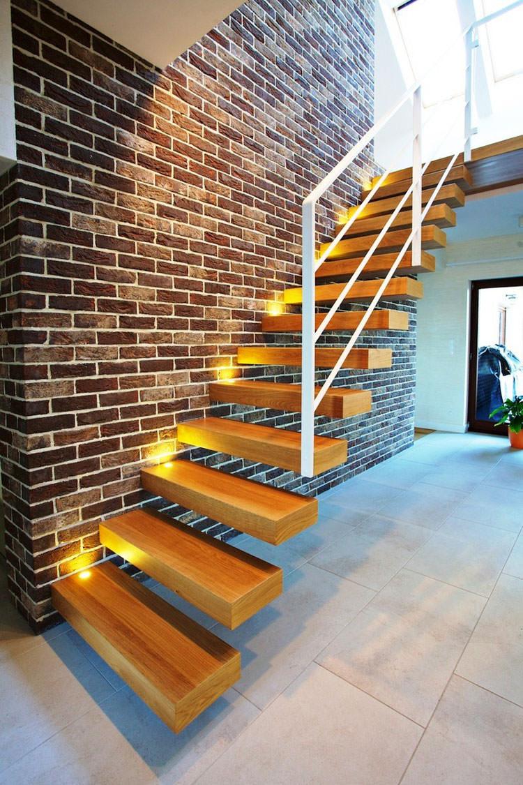Scale da interni dal design moderno n.11