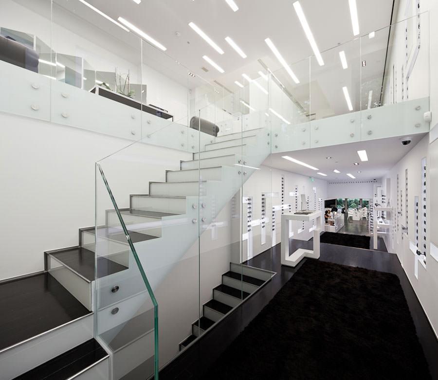 25 spettacolari esempi di scale moderne per interni for Case particolari interni