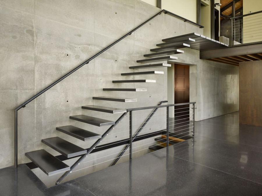 Scale da interni dal design moderno n.19