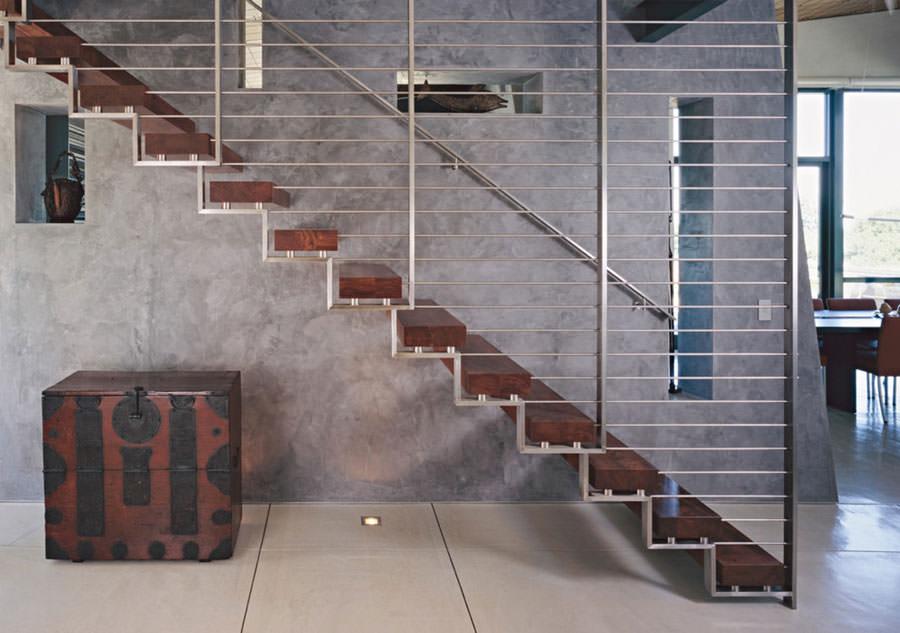 Scale da interni dal design moderno n.20