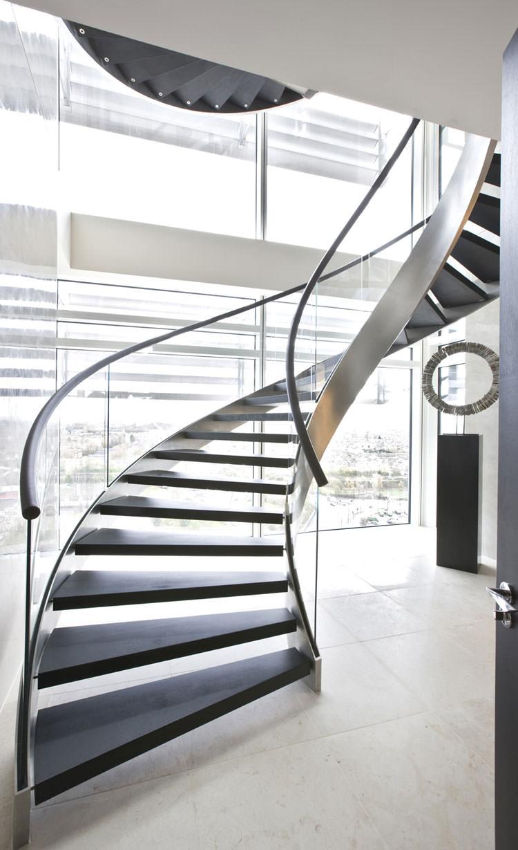 25 spettacolari esempi di scale moderne per interni for Immagini design interni