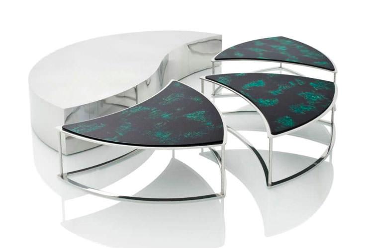 Modello di tavolino da salotto modulare n.03