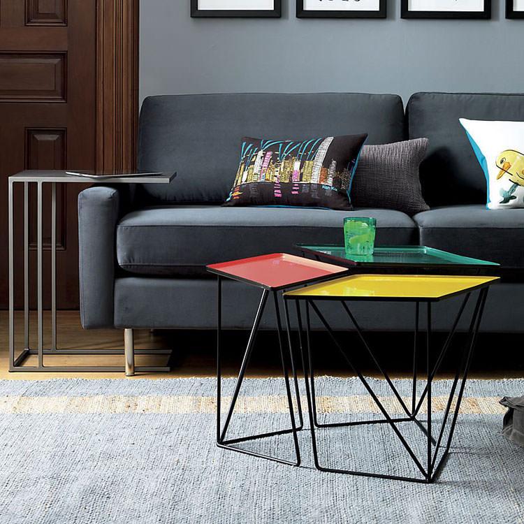Modello di tavolino da salotto modulare n.06