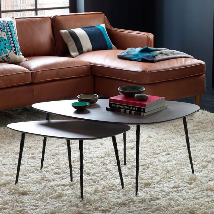 Modello di tavolino da salotto modulare n.07