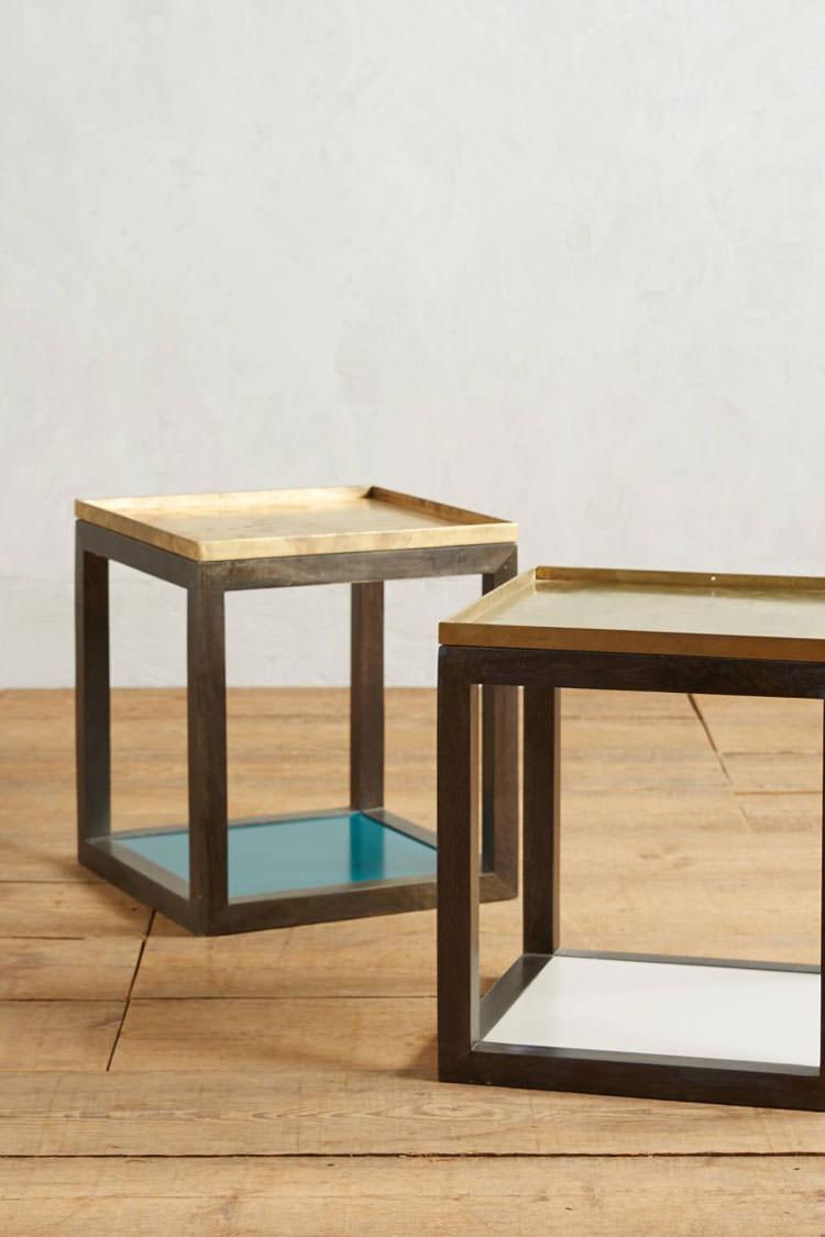 Modello di tavolino da salotto modulare n.10