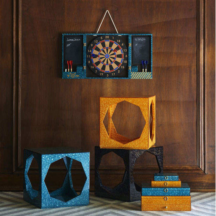 Modello di tavolino da salotto modulare n.12