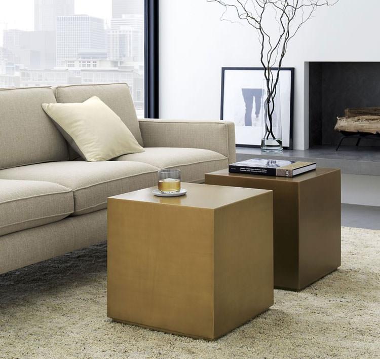 Modello di tavolino da salotto modulare n.15