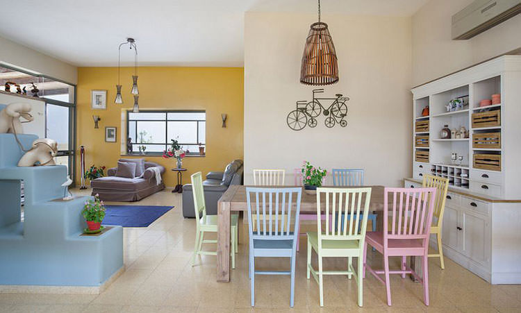 Idee per arredare casa con colori pastello n.02