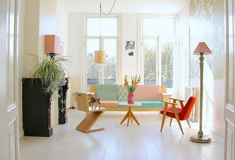 Idee per arredare casa con colori pastello n.03