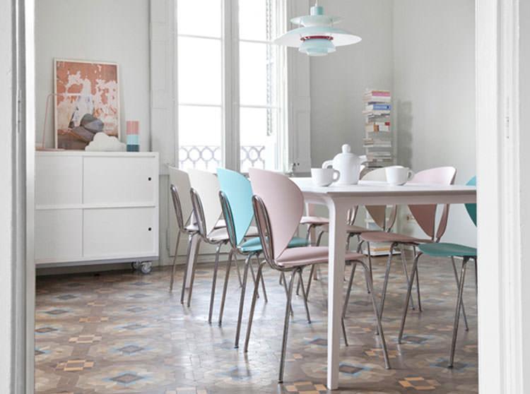 Idee per arredare casa con colori pastello n.08