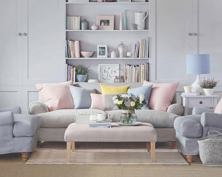Idee per arredare casa con colori pastello n.10