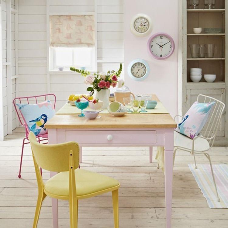 Idee per arredare casa con colori pastello n.11