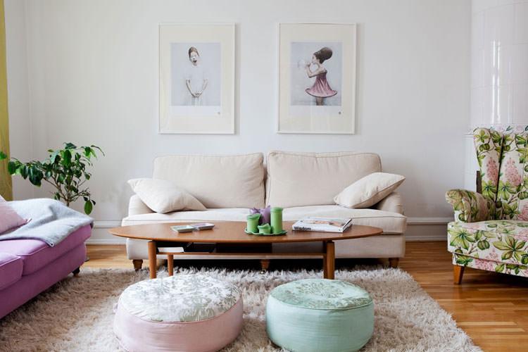 Idee per arredare casa con colori pastello n.12