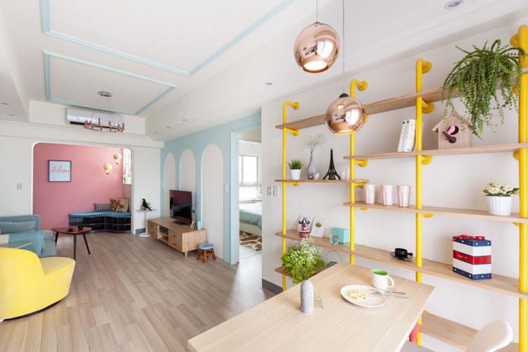 Idee per arredare casa con colori pastello n.15