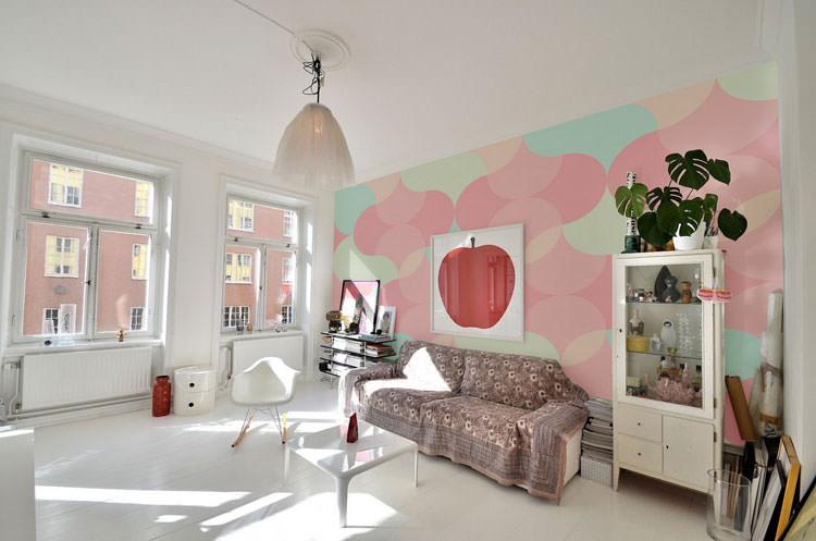 Idee per arredare casa con colori pastello n.16