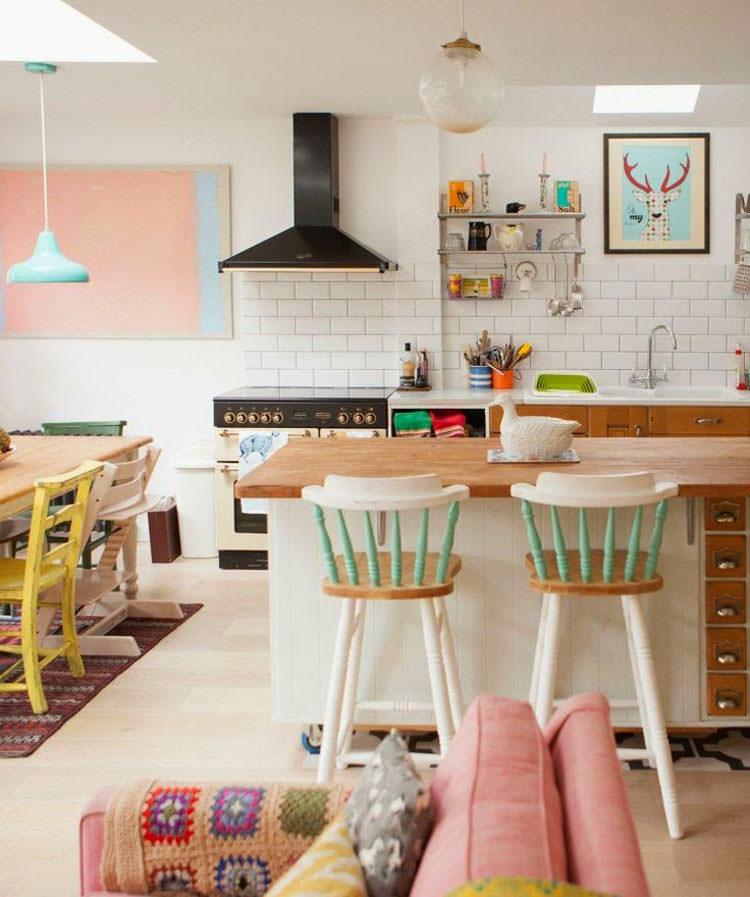 Idee per arredare casa con colori pastello n.17