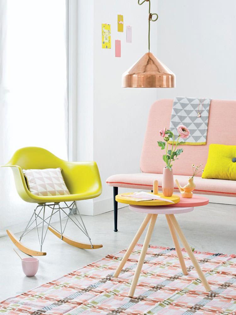 Idee per arredare casa con colori pastello n.19