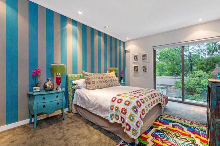 Decorazioni Per Camera Ragazzi : Camerette per ragazzi con pareti decorate mondodesign