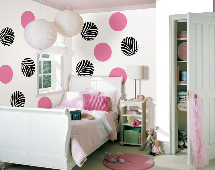 Favoloso 30 Camerette per Ragazzi con Pareti Decorate | MondoDesign.it IC01