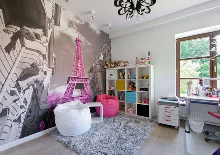 30 camerette per ragazzi con pareti decorate - Decori pareti camerette ...