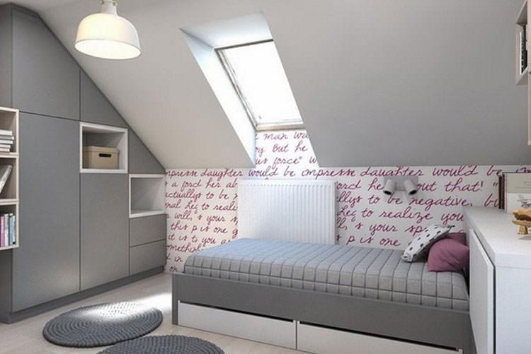 30 camerette per ragazzi con pareti decorate for Decori per camerette neonati