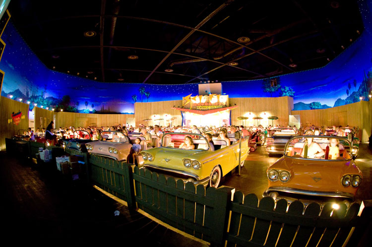 Cinema drive in al Disney Hollywood Studios