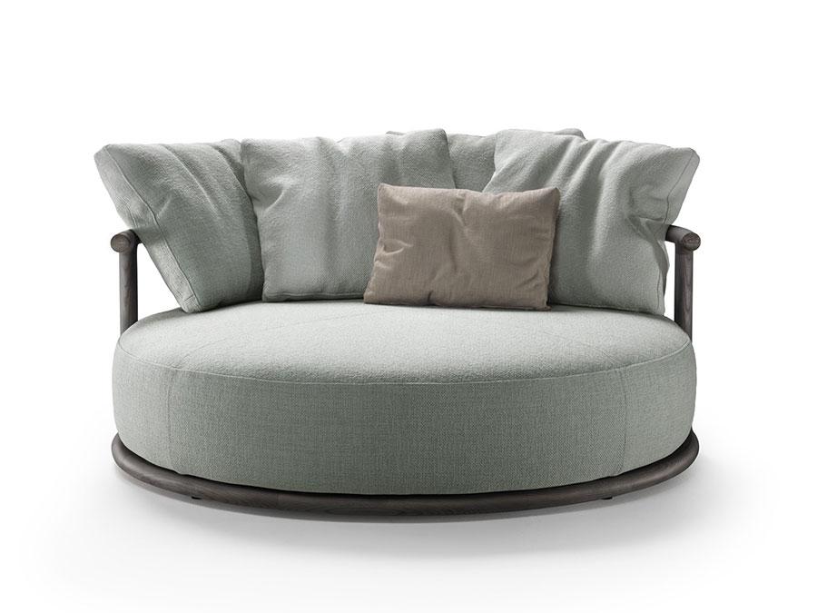 Modello di divano rotondo n.06