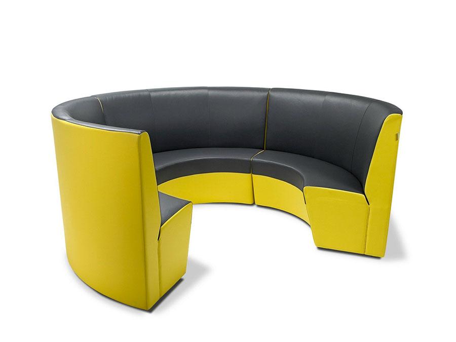 Modello di divano rotondo n.15