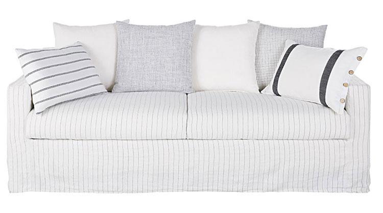 Modello di divano per soggiorno shabby n.05