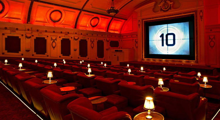 Immagine dell'Electric Cinema di Londra