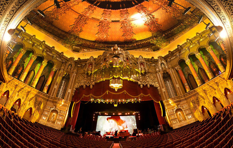 Immagine del cinema Fox Theatre a Detroit