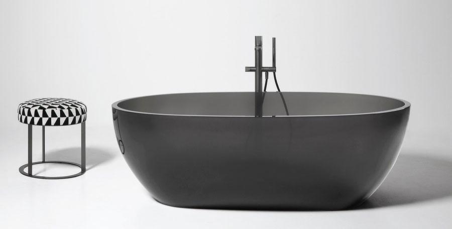 Vasche da bagno nere di design