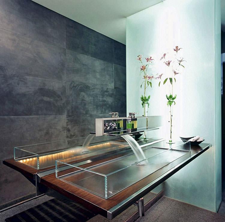 Lavandino futuristico per bagno moderno n.01