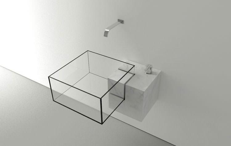 Lavandino futuristico per bagno moderno n.05