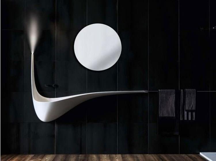 Lavandino futuristico per bagno moderno n.08