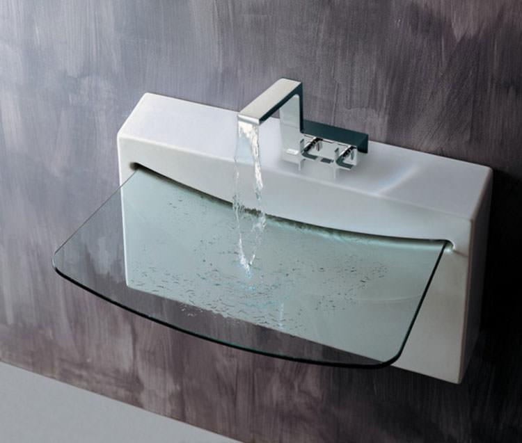 Lavandino futuristico per bagno moderno n.16